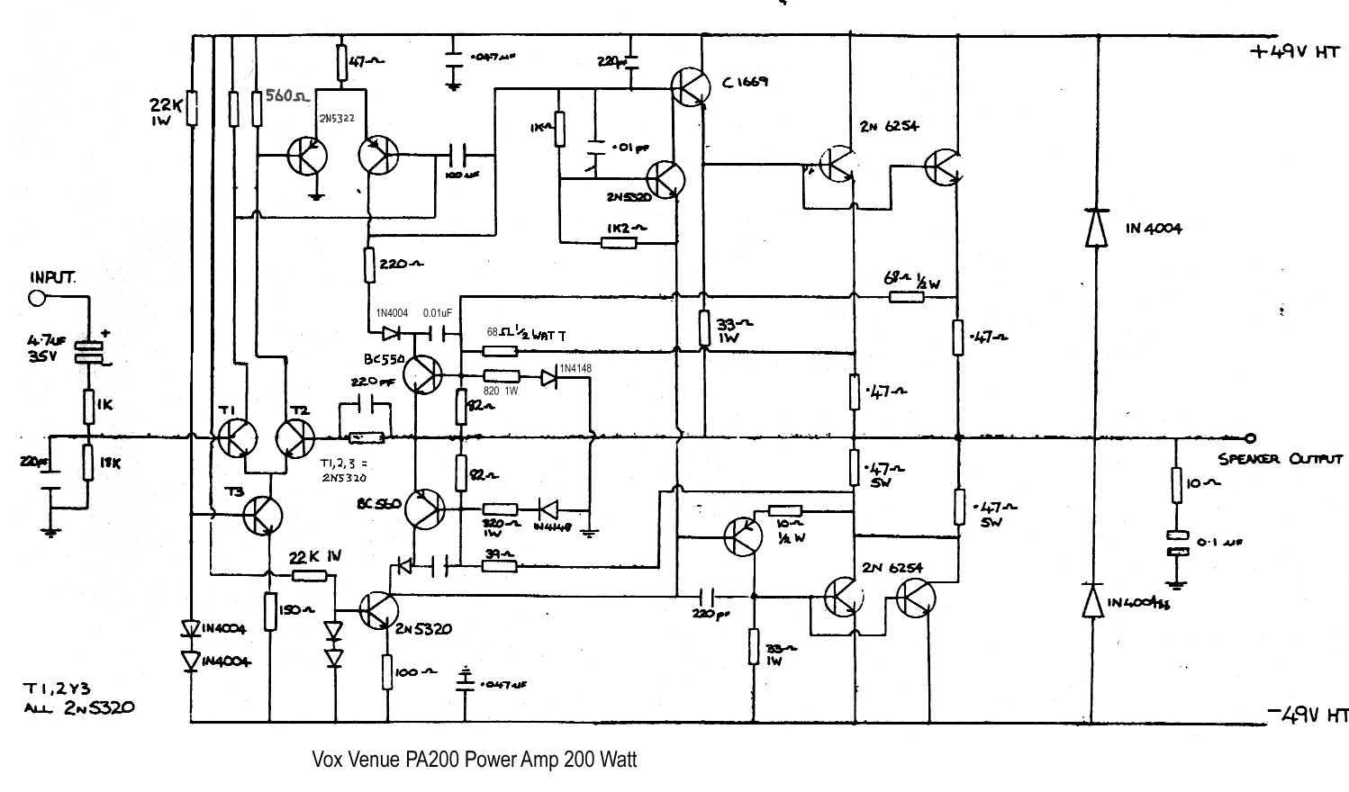 Schematic Diagram Of Amplifier 500 Watts K6 700 Watt Audio And Switching Power Supply Similiar Amp Keywords